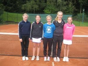 FOTO1_Tennis Ursulinenmannschaft WK III-Mädchen