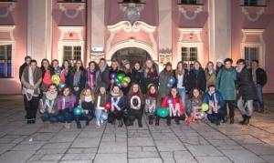 Im Rathaus in Rawicz wurden die St.-Ursula-Schülerinnen und ihre polnischen Gastgeberinnen herzlich willkommen geheißen