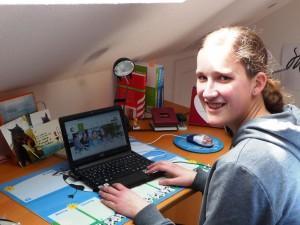 Barbara Rohr lernte viel beim CyberMentoring