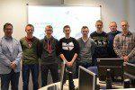 Im Mai besuchte GEDIA den IT-Grundkurs der Jgst. Q1  im Informatikunterricht.