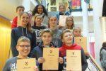 Strahlender Sieger bei der Mathematik-Olympiade