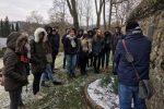 """AG """"Erinnerungkultur """" besuchte den Jüdischen Friedhof"""